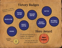 Victory Badges Color