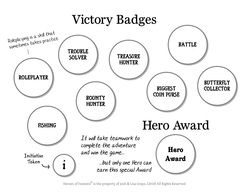 Victory Badges Grayscale